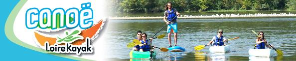 Canoë-Kayak on the Loire