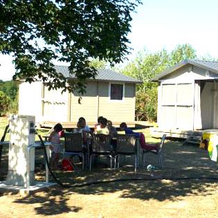 Châlets camping Blois