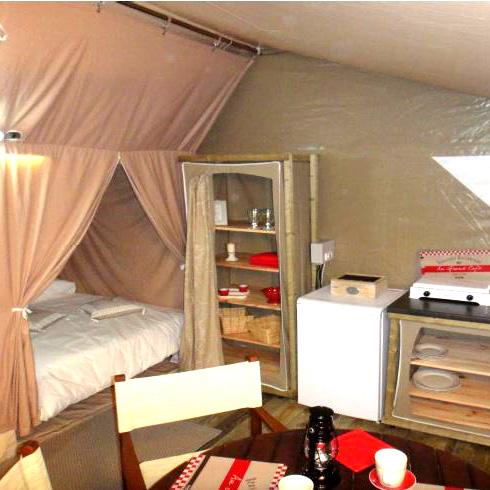 Tentes 4 places Camping Blois